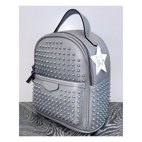 Phantom Studded Backpack Grey