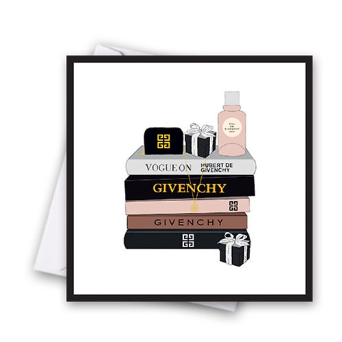Givenchy Books Card