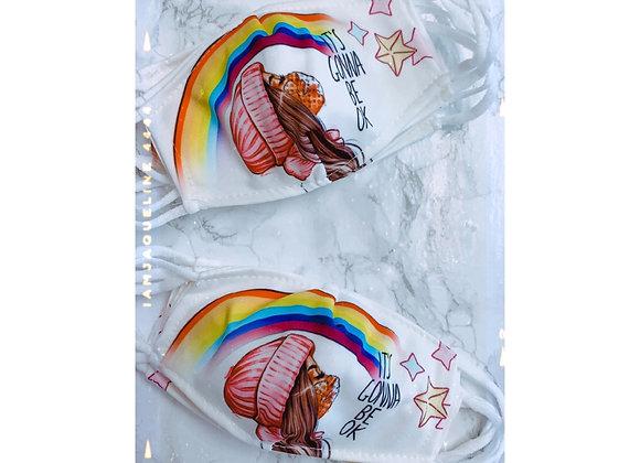 Children's Rainbow Mask