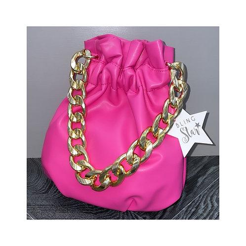 Lola Chunky Chain Pink