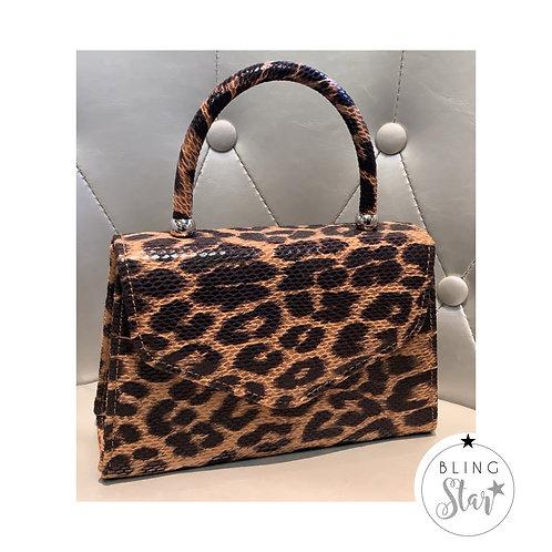 Vivian Mini Handbag Leopard