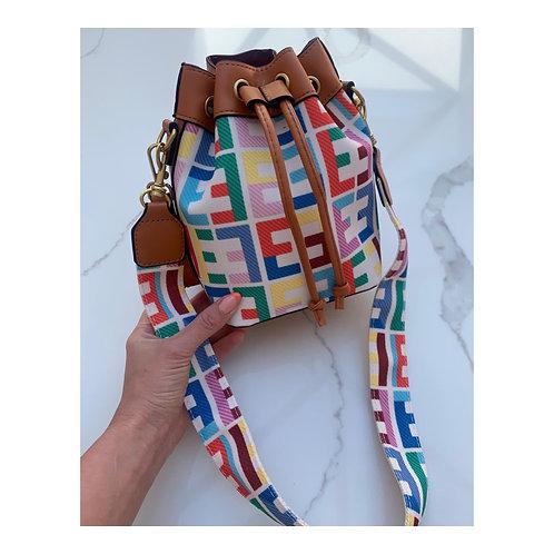 Kyra Rainbow Bucket Bag