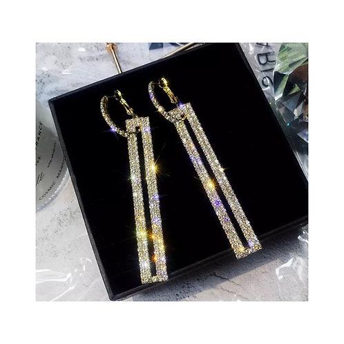 Diana Diamanté Earrings Gold