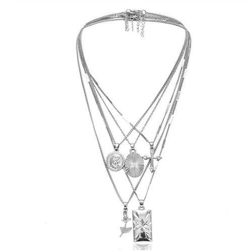 Florence Layer Chain Silver
