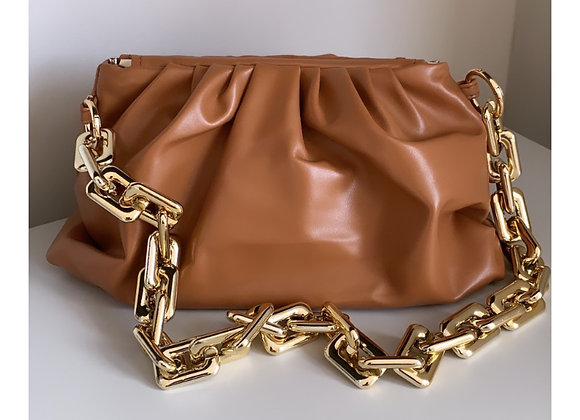 Loretta Chain Bag Tan