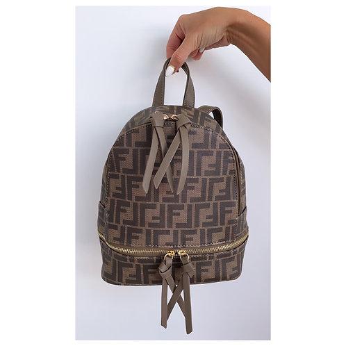 Lola Mini Backpack Brown