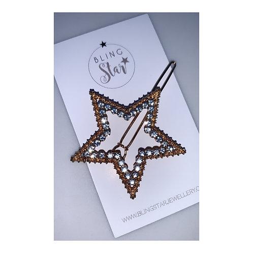 Diamond Star Hair Slide