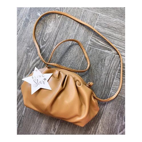 Mini Pouch Bag Tan