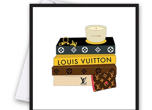 Louis Vuitton Books Card