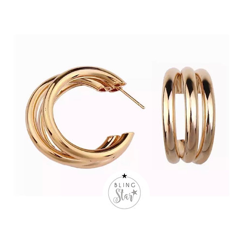 Coco Hoops Gold
