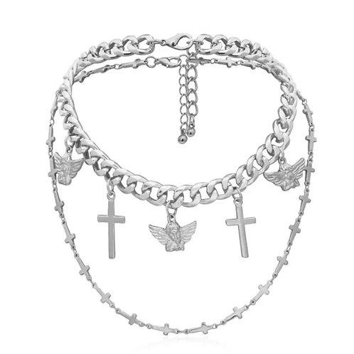 Saints & Sinners Layer Necklace