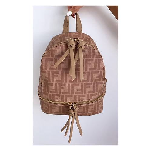Lola Mini Backpack Tan