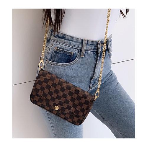 Miami Mini Purse Bag Brown