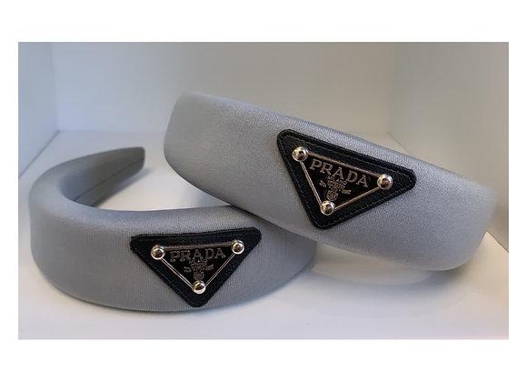 Triangle Headband Grey