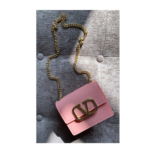 V Mini Messenger Pink