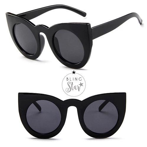 Paloma Cat Eye Sunglasses Black
