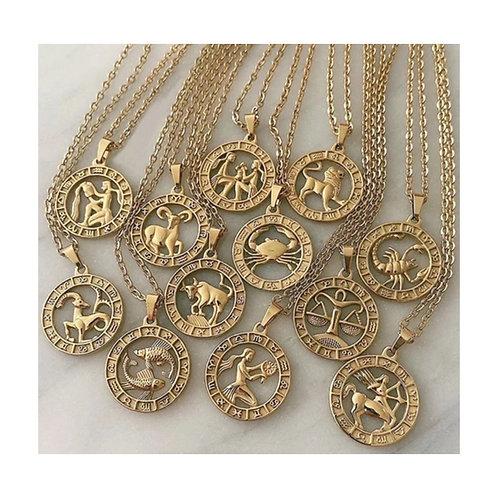 New Zodiac Sign Necklace