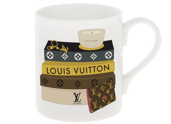 Louis Vuitton Books Mug