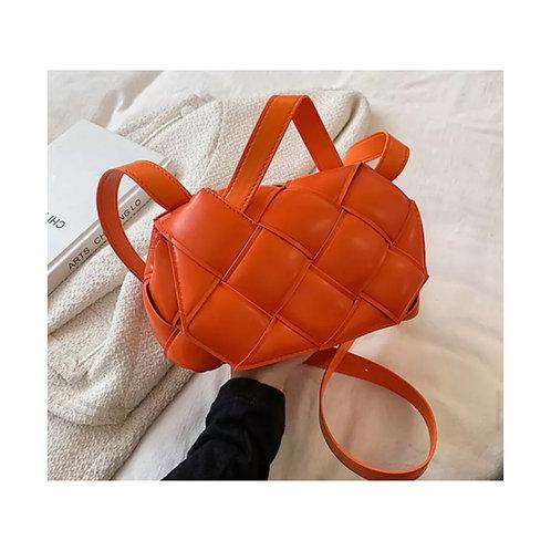 Grace Woven Bag Orange