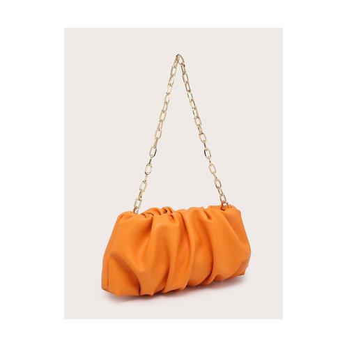 Saffie Ruffle Pouch Bag
