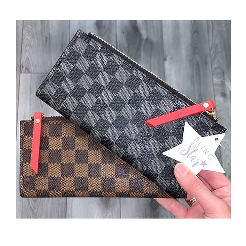 Chequered Purse