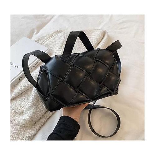 Grace Woven Bag Black