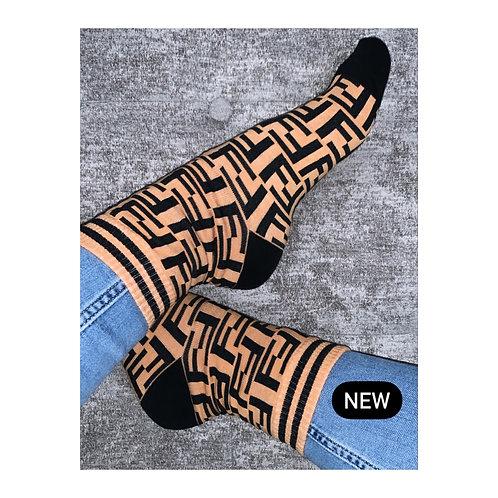 FF Socks Tan
