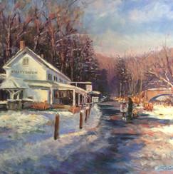Valley Green in Winter