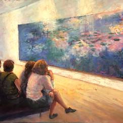 Contemplating Monet