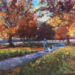 Crisp Autumn Walk