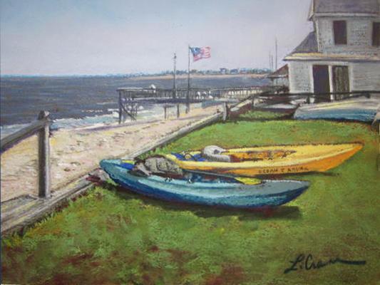"""Timmy's Pier"",   Pierce's Pt., NJ"