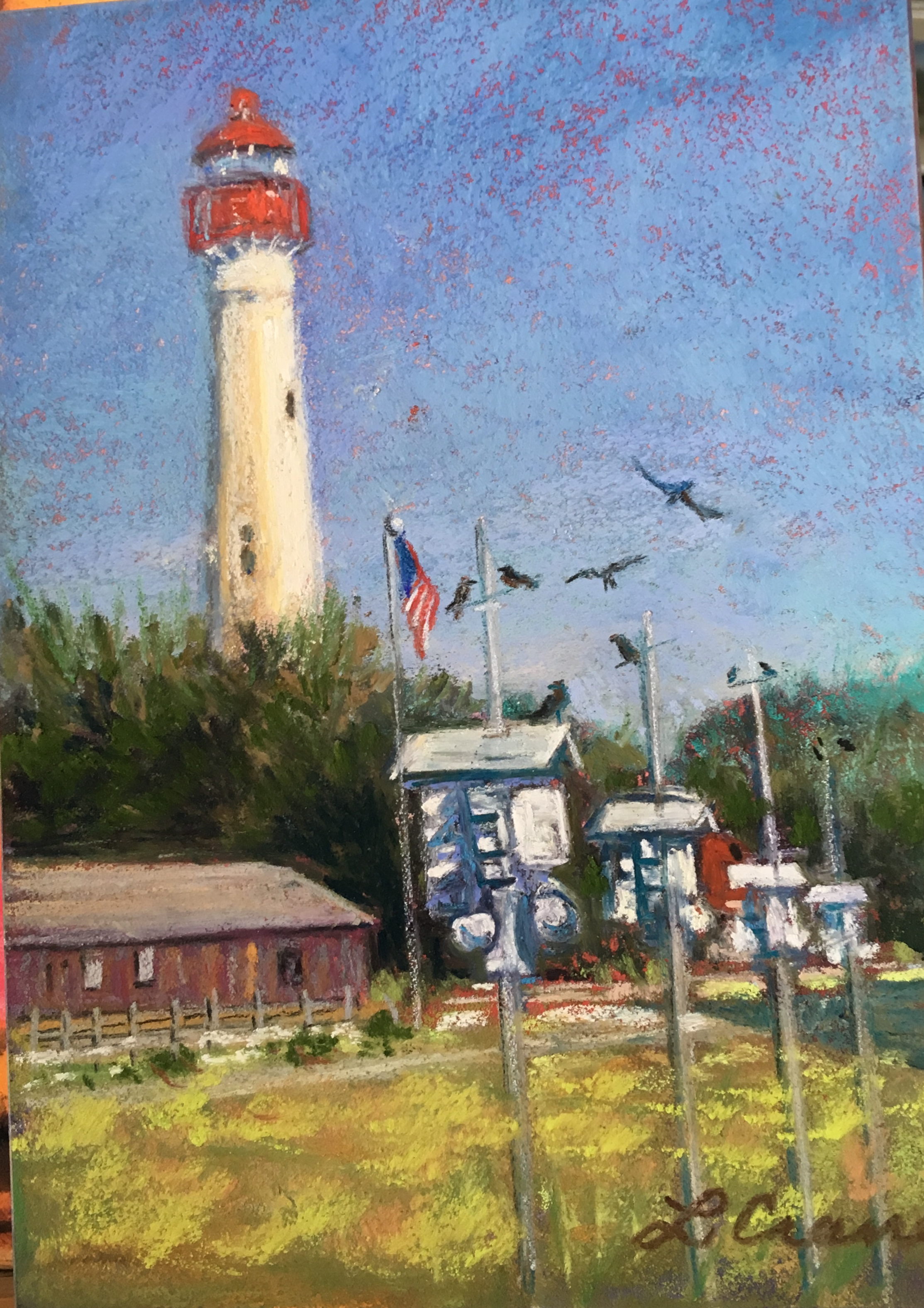 Birdhouses in Cape May