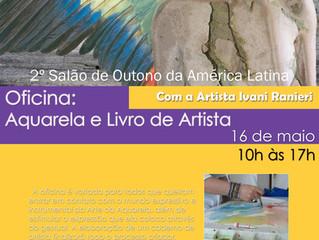 Oficina de Aquarela & Livro de Artista