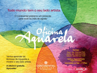 Oficina Aquarela - Continental Shopping