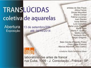"""Exposição """"Translúcidas - Coletiva de Aquarelas"""""""