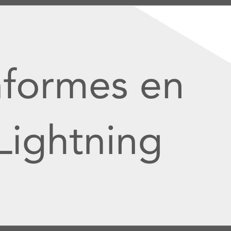 Informes: de Classic a Lightning