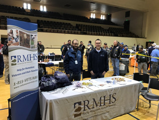 RMHS Participates in Veteran Stand Downs to Help Vets Experiencing Homelessness