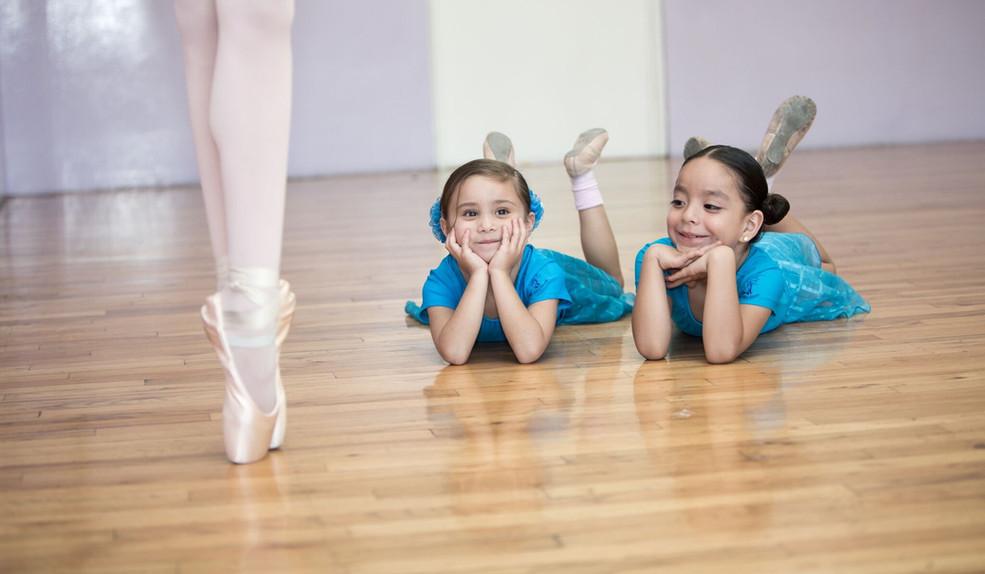 Baby Ballet puntas
