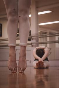 En puntas de Ballet