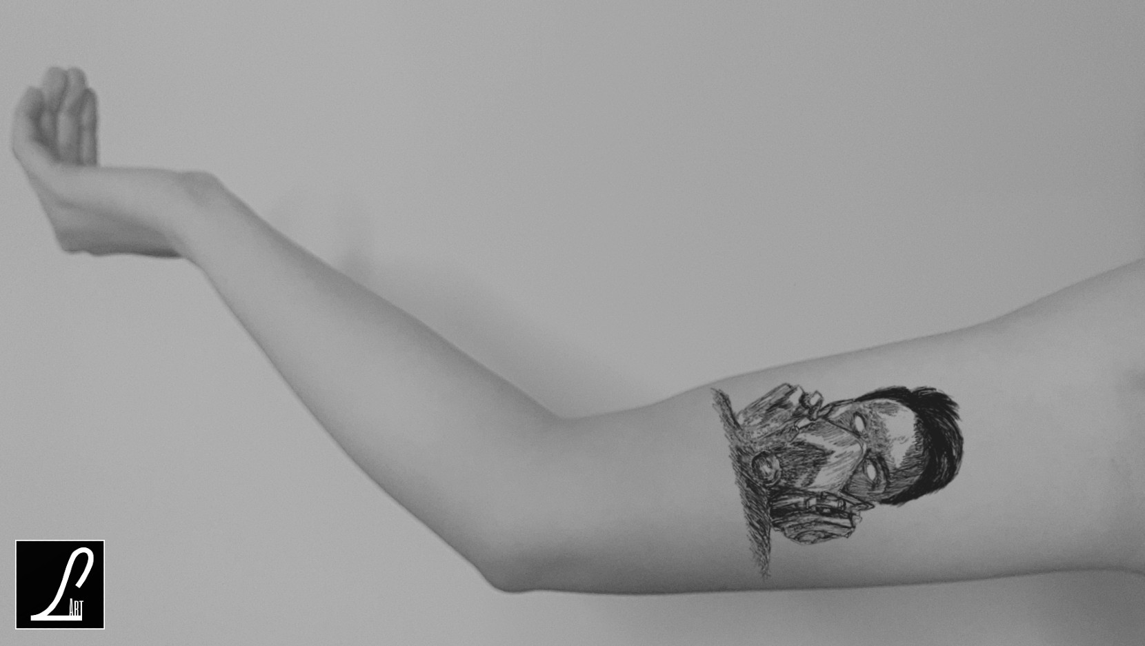 TATTOO ARM -  CYBERG