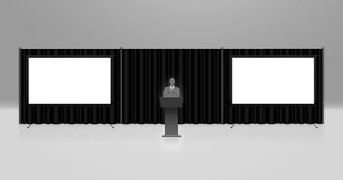 Projector and Screen System Rental 5