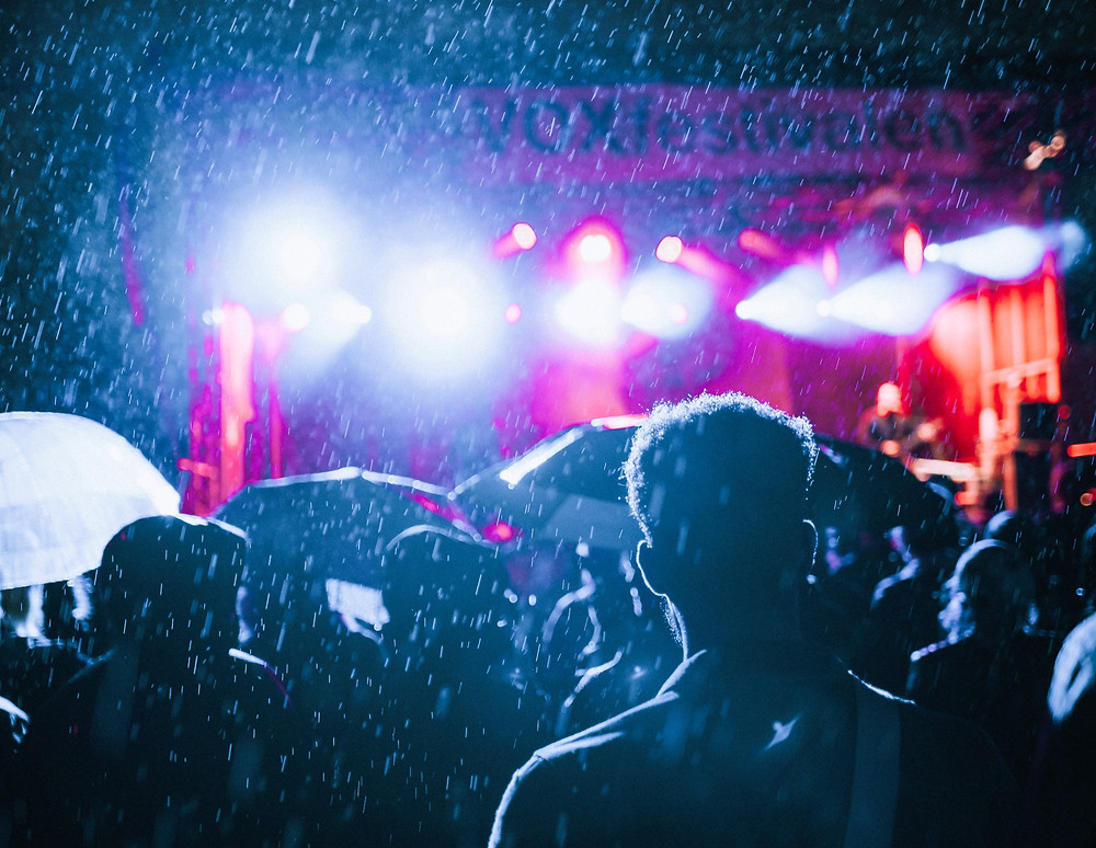 Concert in the Rain
