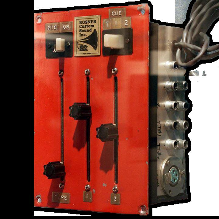 """First DJ mixer called """"Rosie"""" designed by Alex Rosner"""
