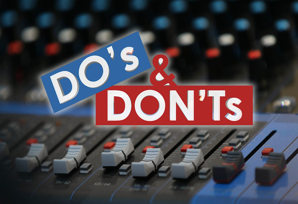 Dos and Don'ts of Booking an AV Provider