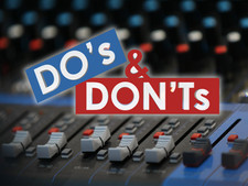 The Simple Dos and Don'ts of Booking an AV Provider