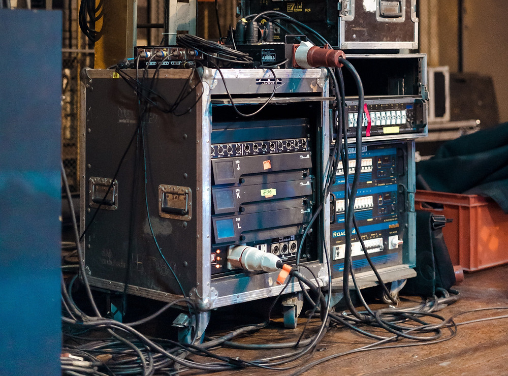 AV Cables in a Mess