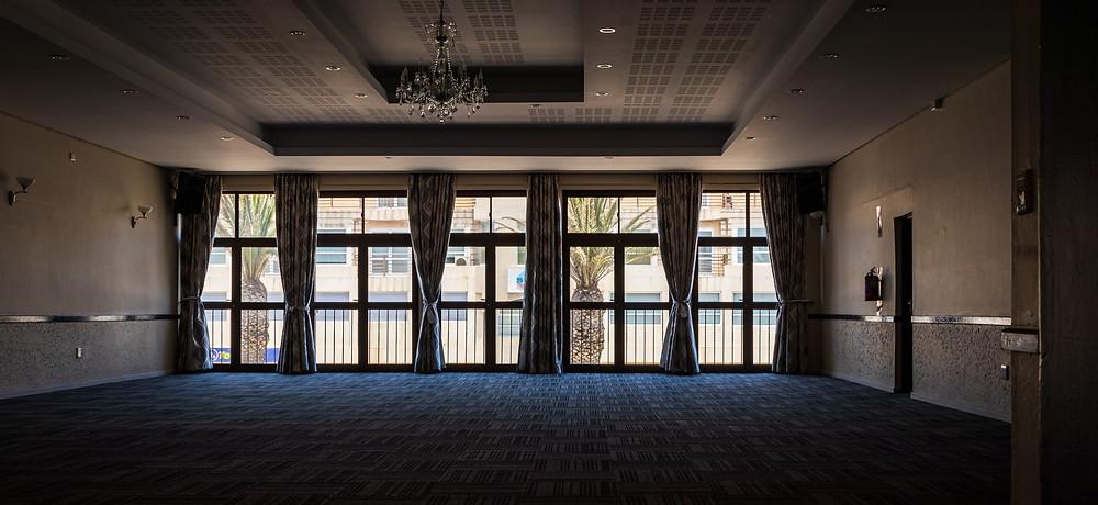 Empty Venue Before Event