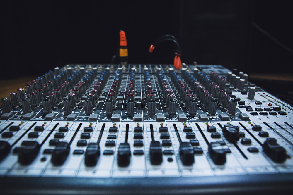 mixing board console live sound