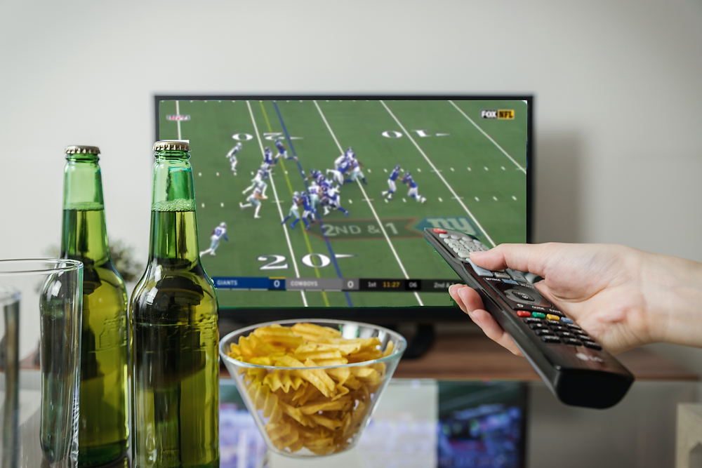 NFL Football Game Viewing Party