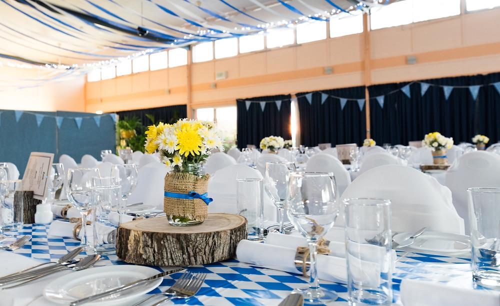 Banquet Table Spread